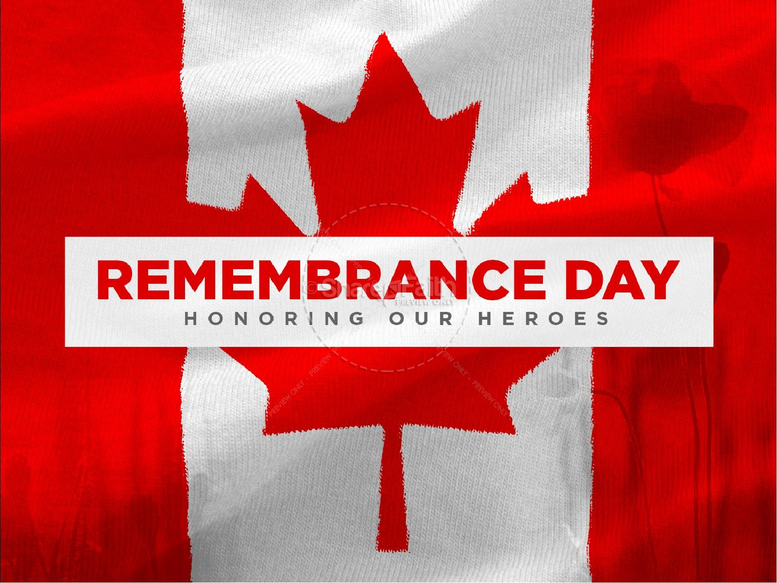 Remembrance Day Canada Thankyou For Soldiers