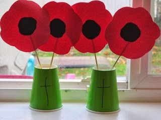 Remembrance Day Colorful Crafts For Kids