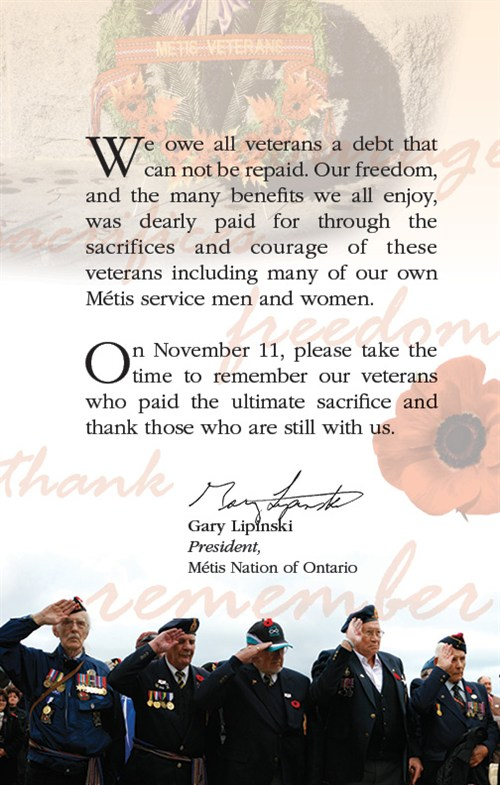 Remembrance Day Message English Sayings