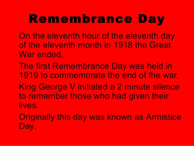 Remembrance Day Peace Poem For Soldiers
