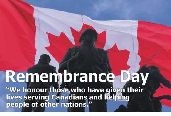 Remembrance Day Pictures Canada Flag Banner
