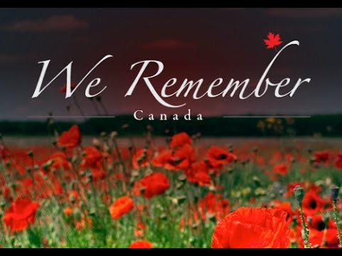 Remembrance Day Poems Canada Simple