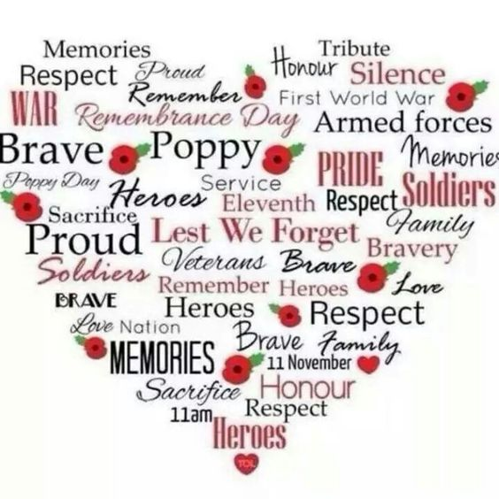 Remembrance Day Proud Message To Employees