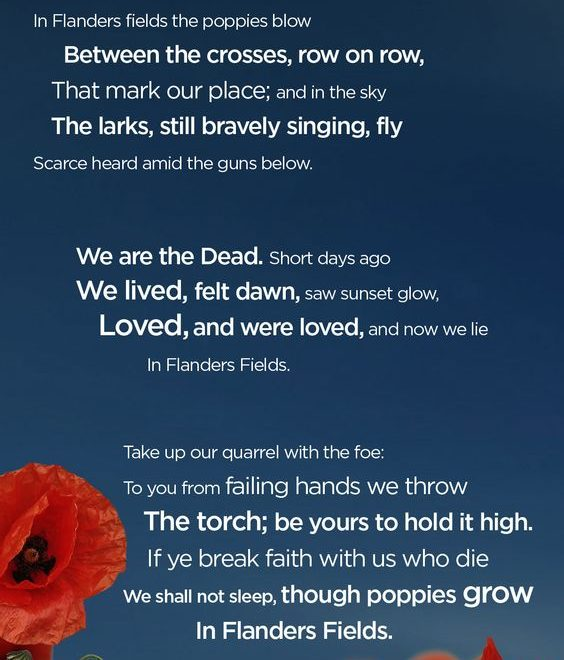 Remembrance Day Sayings Respectful Short Poems
