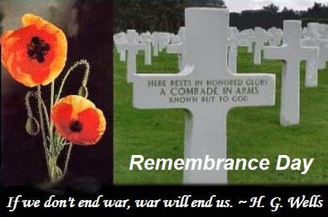 Remembrance Day Thankyou Message Soldiers