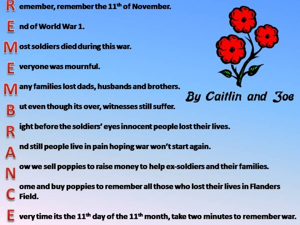 Top Remembrance Day Poem In French