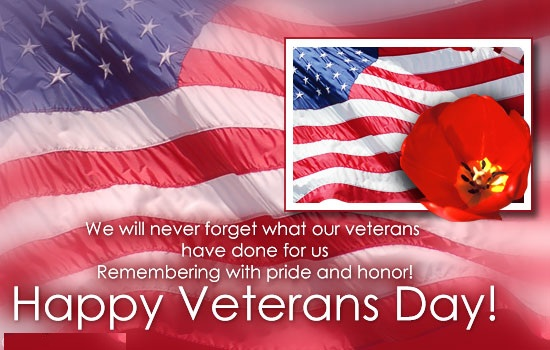 Veterans Day USA Message For Soldiers
