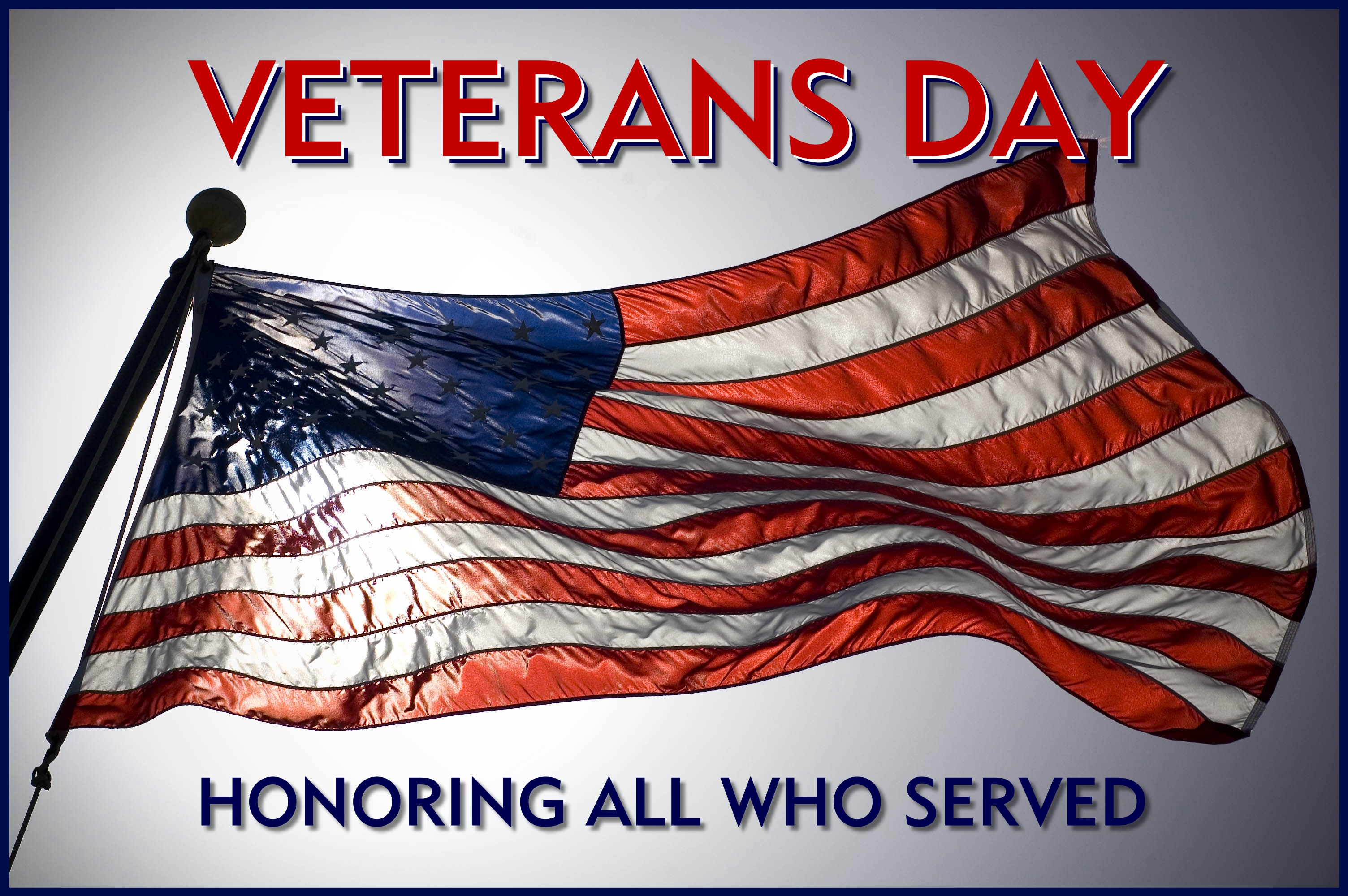 Veterans Day USA Wishes Greeting