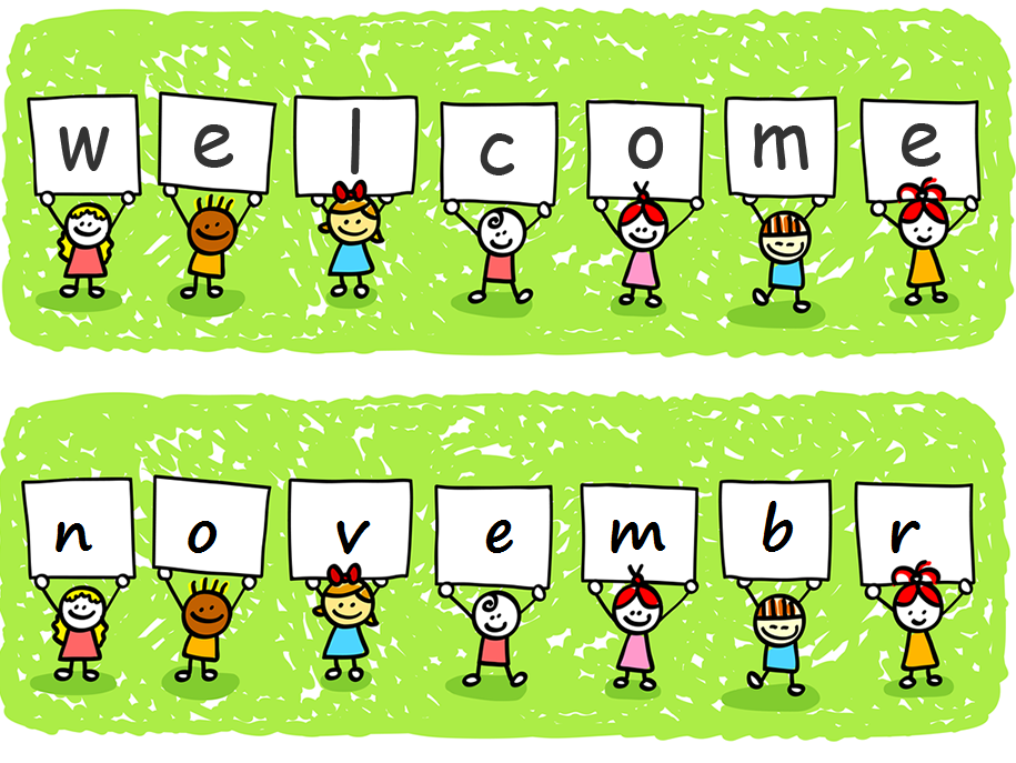 Welcome November Clipart Images