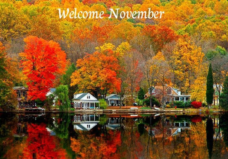 Welcome November Facebook Images
