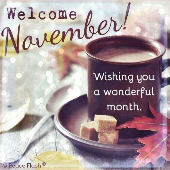 Welcome November Good Morning Images