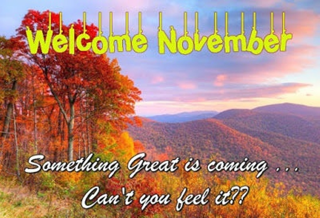 Welcome November Images With Quotes
