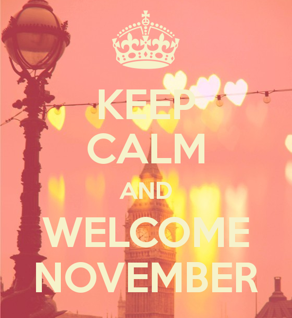Welcome November Keep Calm Images