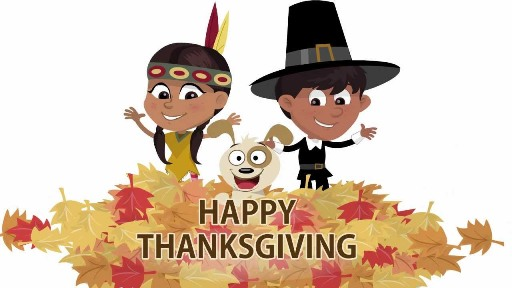 Animated Thanksgiving FB Cover Photos