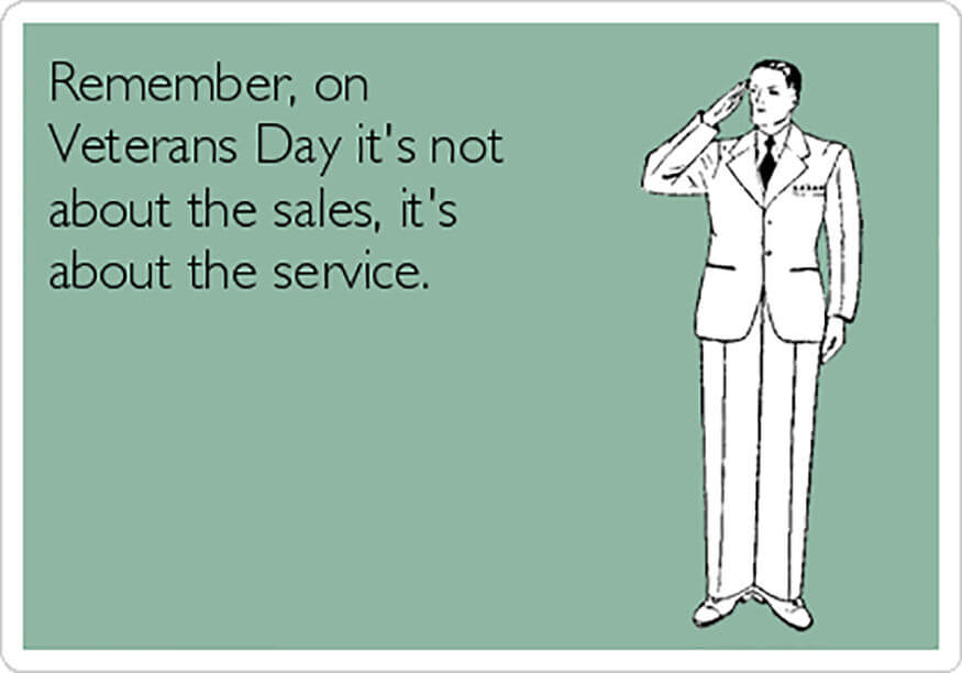 Awesome Veterans Day Memes Message