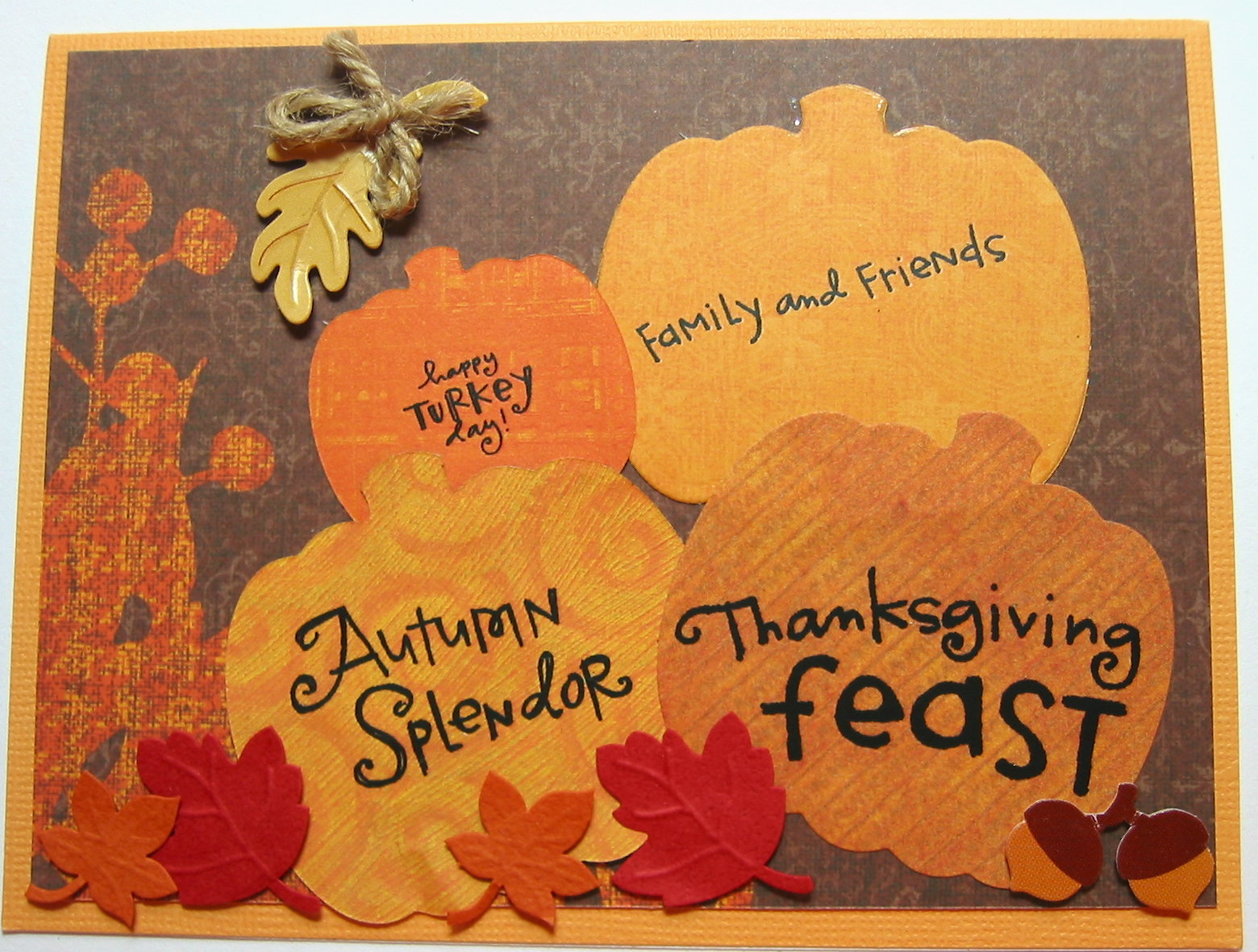 Best Thanksgiving Cards On Pinterest