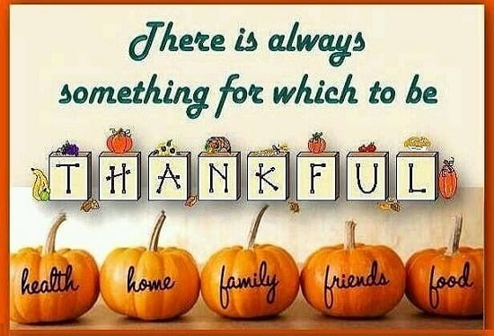 Free Thanksgiving Day Positive Quotes