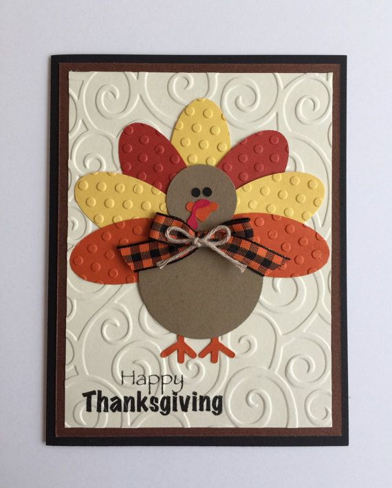 Happy Thanksgiving Cards To Make