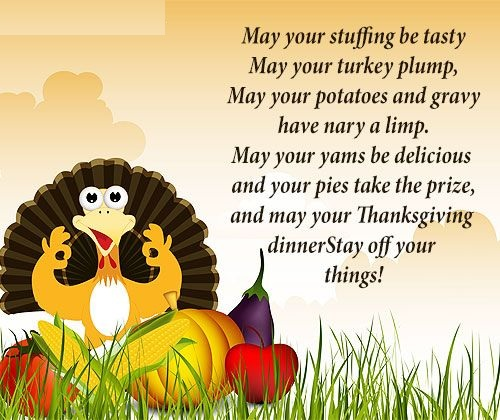 Happy Thanksgiving Message To Friends