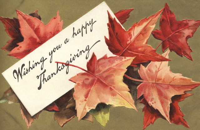 Happy Thanksgiving Wishes Cards