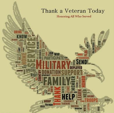 Happy Veterans Day Graphic GIF