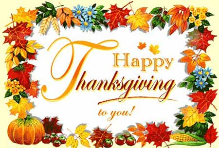 Thanks Giving Day Celebration Greeting In USA