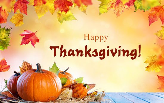 Thanks Giving Day In USA Beautiful Banner