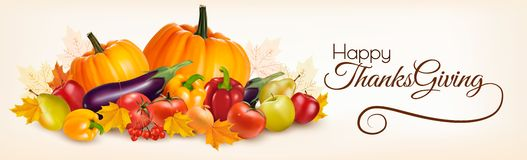 Thanksgiving Banner Design