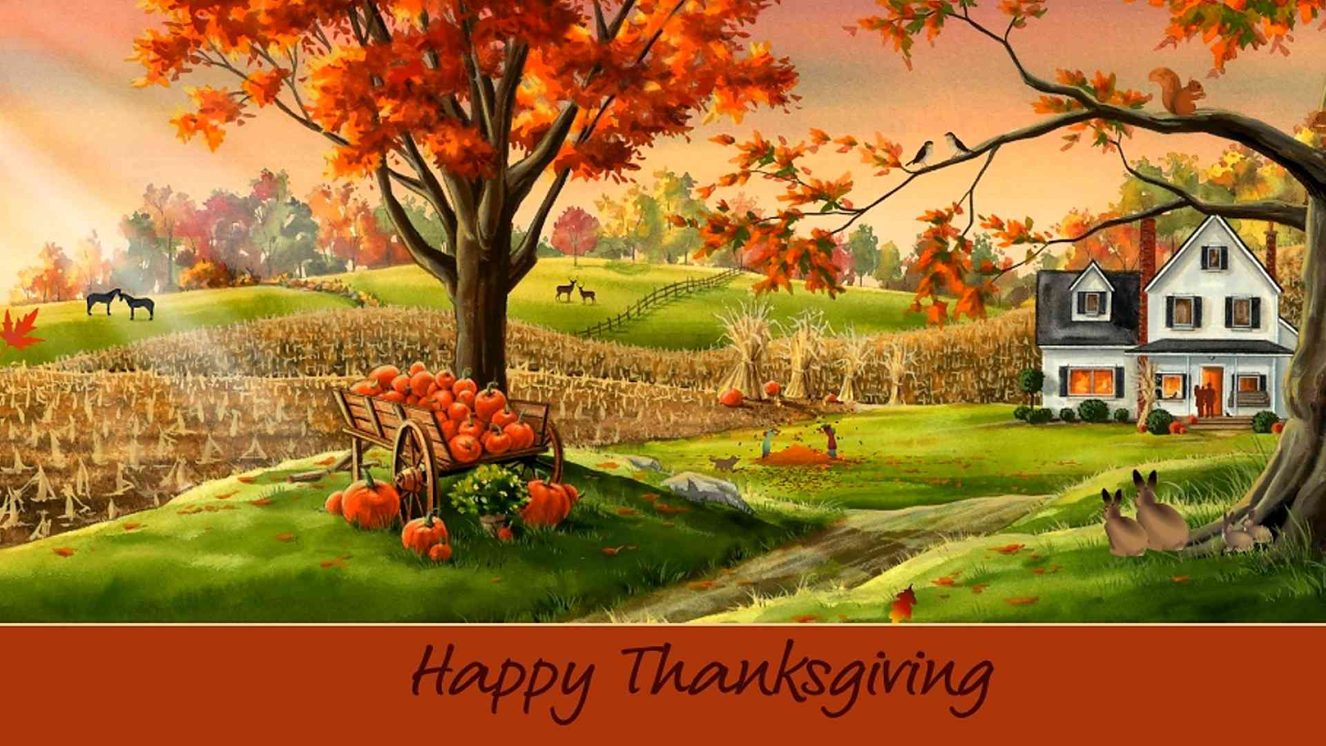 Thanksgiving Beautiful Hd Wallpaper