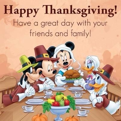 Thanksgiving Blessings Cartoon Pictures