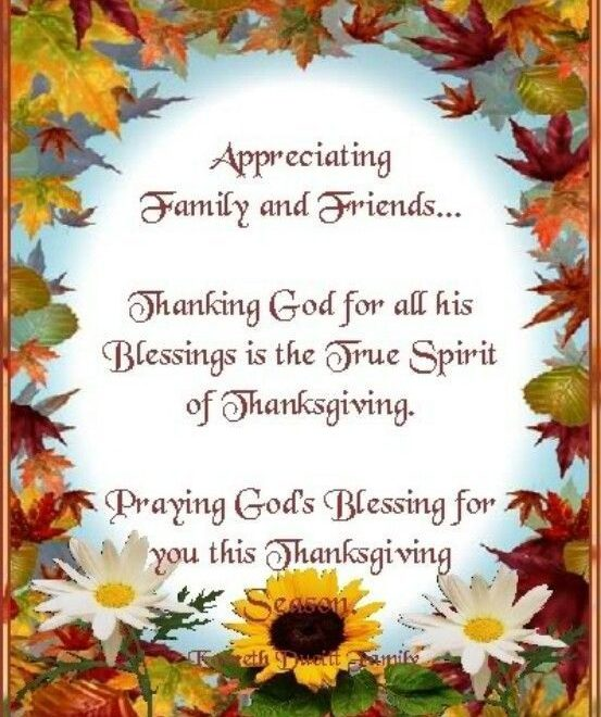 Thanksgiving Blessings Message And Quotes
