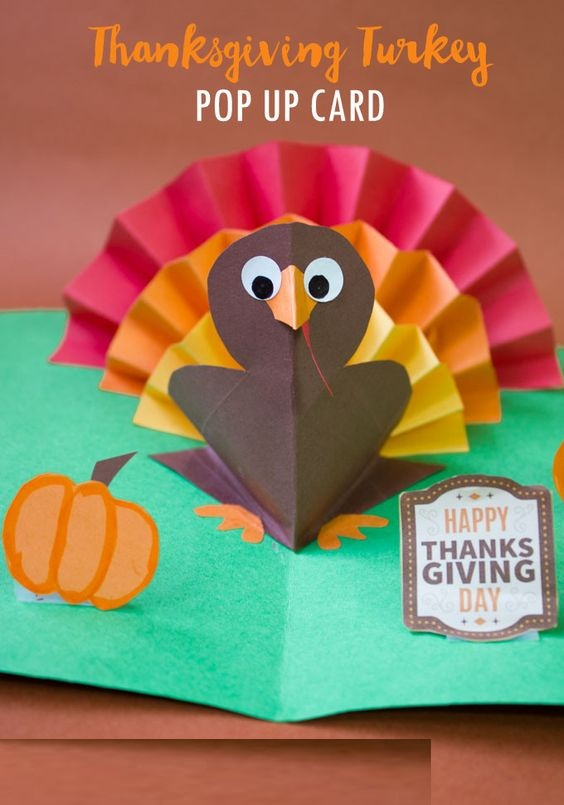 Thanksgiving Crafty Cards To Make At Home