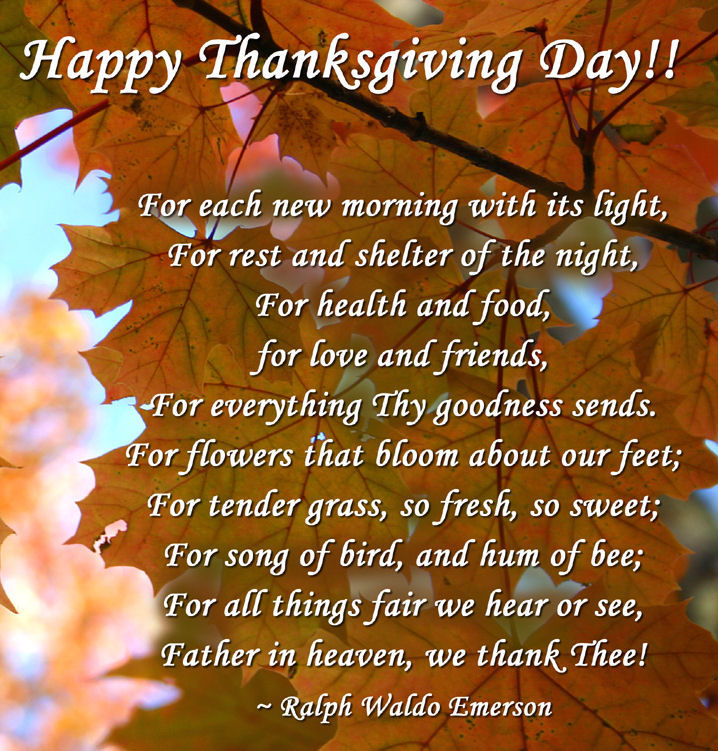 Thanksgiving Day Inspirational Quotes Picture