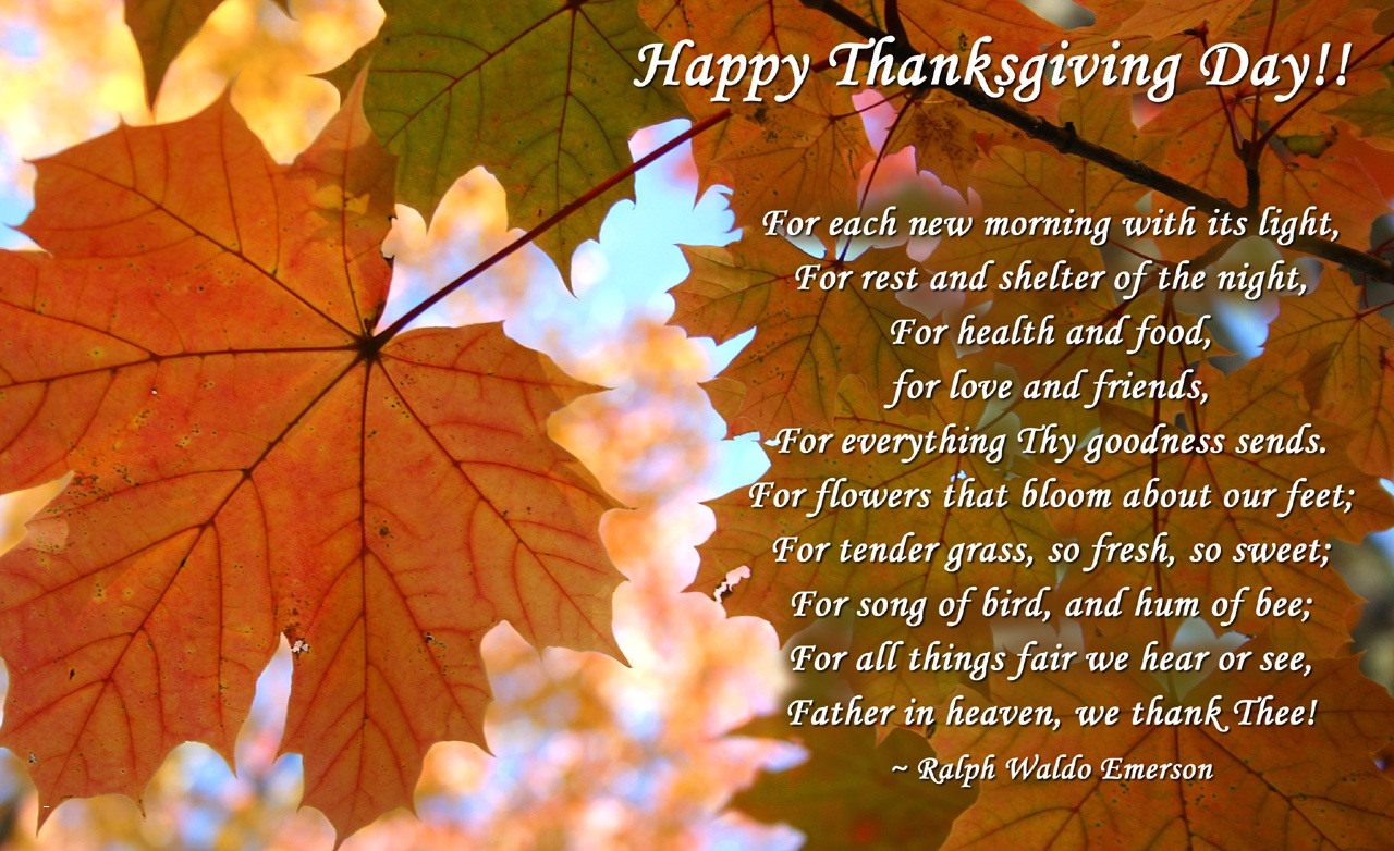 Thanksgiving Day Pictures And Sayings