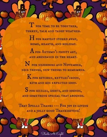 Thanksgiving Day Sayings 2018