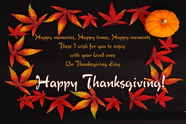 Thanksgiving Day Special Sayings