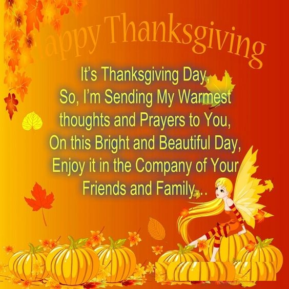 Thanksgiving Day Thankful Message