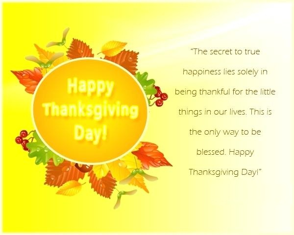 Thanksgiving Greetings Design And Message