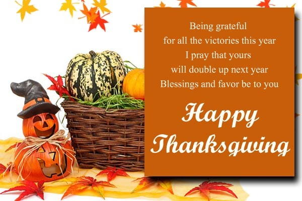 Thanksgiving Greetings SMS For Facebook