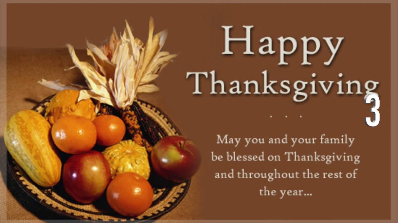 Thanksgiving Message For Important Clients