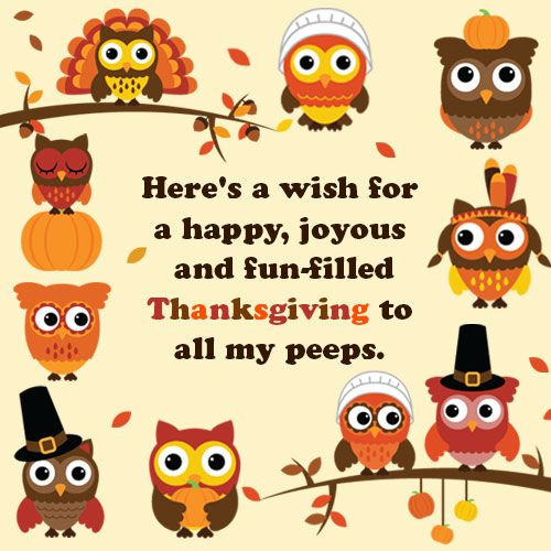 Thanksgiving Sayings Clip Art Pictures