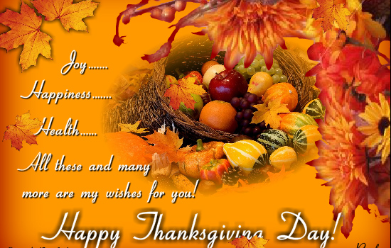 Thanksgiving Wishes Sayings Photos