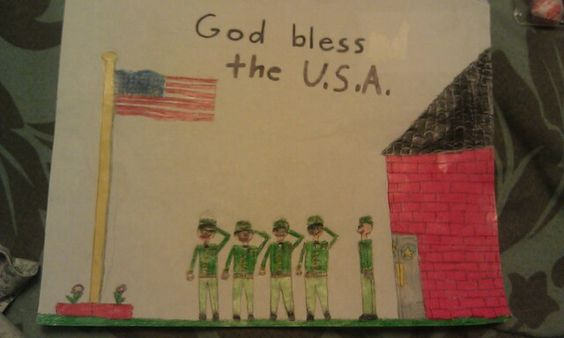Veterans Day Creative And Homemade Poster