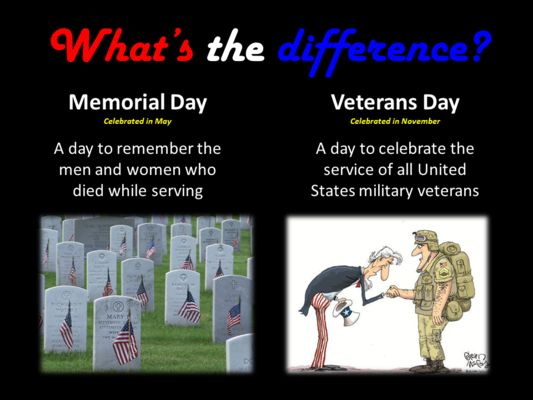 Veterans Day Photos Difference Special