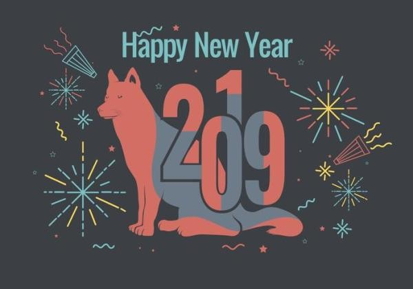 Cards For Happy New Year 2019