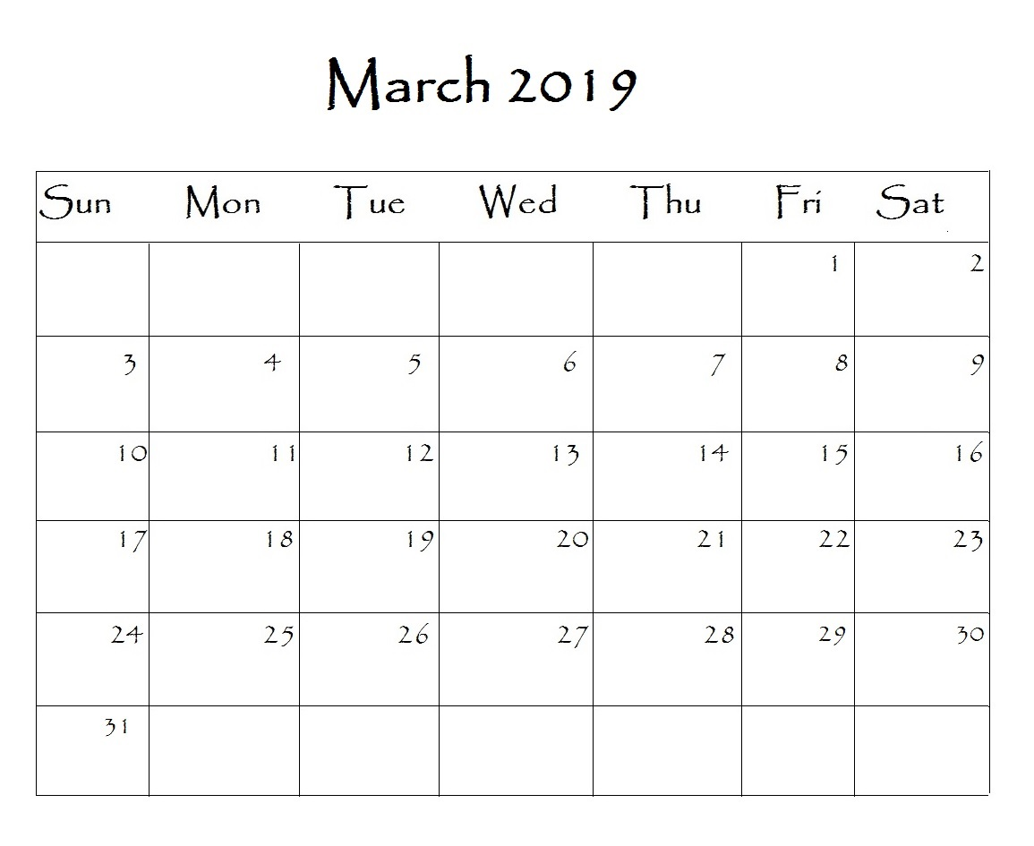 March 2019 Calendar With Holidays Usa Uk Canada India