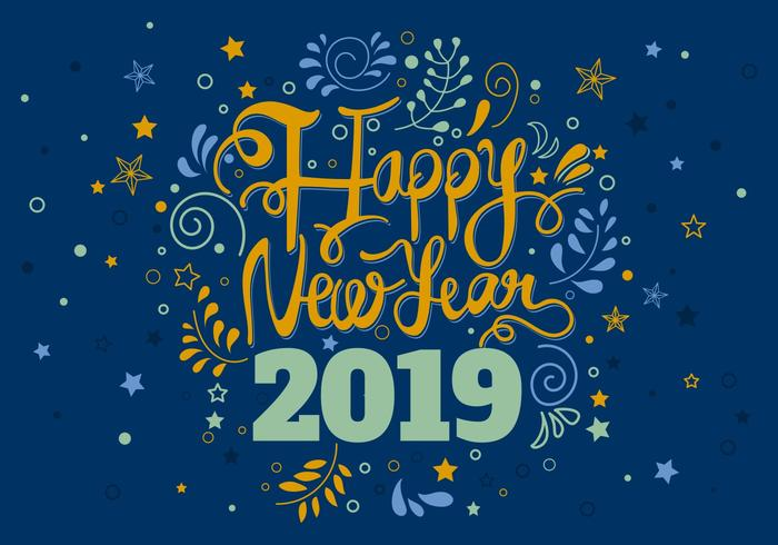 Happy New Year 2019 Cards