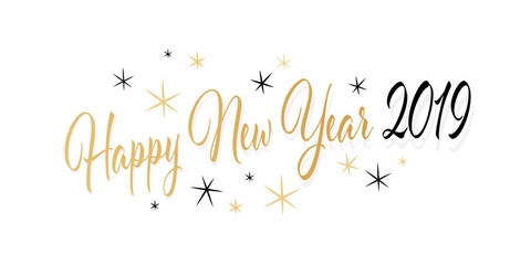 Happy New Year 2019 Clipart Free