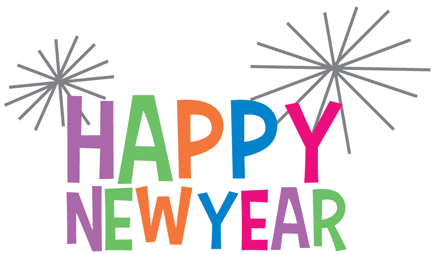 Happy New Year 2019 Clipart Transparent