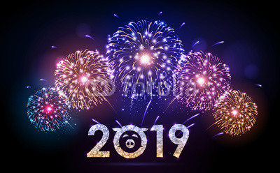 Happy New Year 2019 Fireworks Images